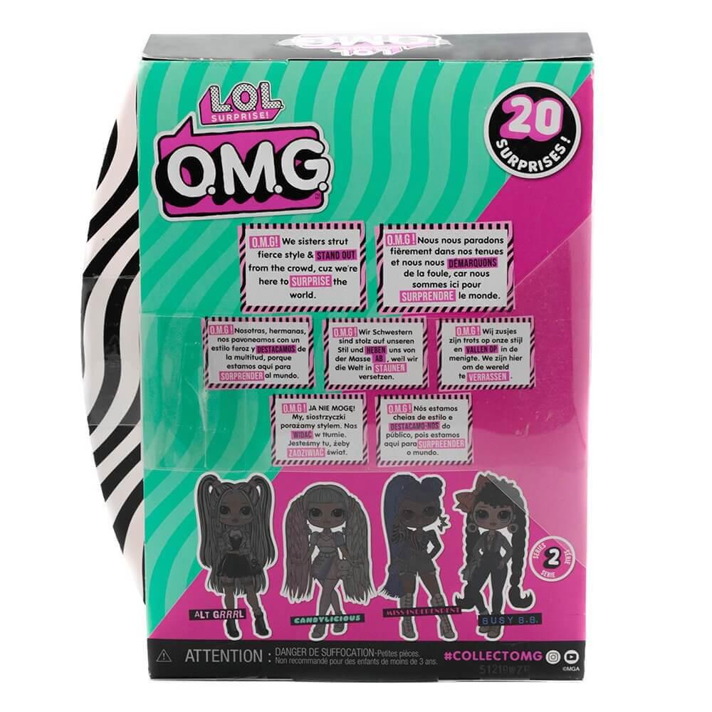 Большая кукла LOL Surprise OMG Miss Independent Fashion Doll с 20 сюрпризами - 4